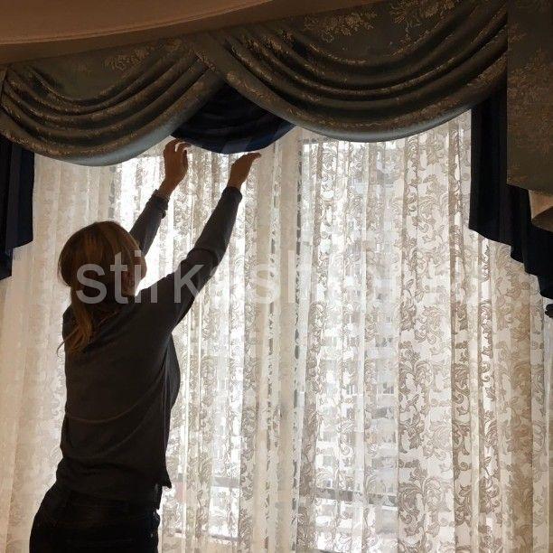 122345 - Чистка штор, чистка мягкой мебели, химчистка штор в Москве, stirkashtor - услуги химчистки штор