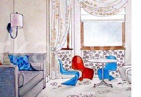 Dizayn-byuro-MUGU-Interiors - Чистка штор, чистка мягкой мебели, химчистка штор в Москве, stirkashtor - услуги химчистки штор