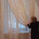 Укладываем шторы в подхват