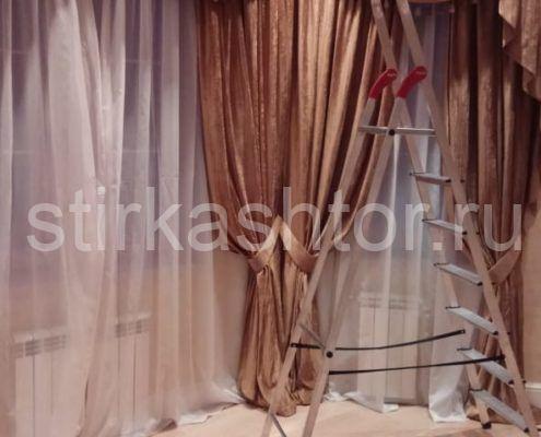 химчистка штор в домашних условиях