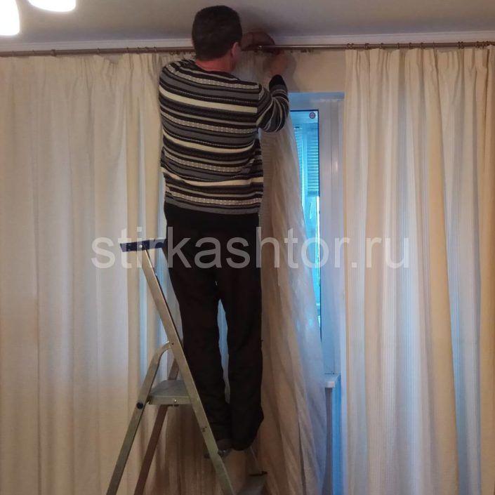 Дополнительная услуга - ремонт карниза