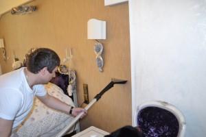 61 - Чистка штор, чистка мягкой мебели, химчистка штор в Москве, stirkashtor - услуги химчистки штор