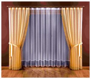 способы чистки штор