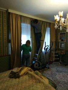 химчистка штор,чистка ковров