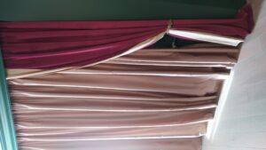 стирка штор и тюля